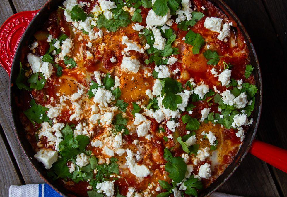 Shakshuka – Posjerte egg i marokkansk tomatsaus